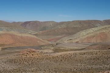 Paysage désertique du Nord-Ouest argentin