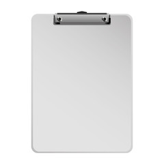 office clipboard clip stationery element blank icon vector illustration