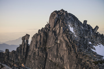 Scenery of Mount Rexford, Chilliwack, British Columbia, Canada