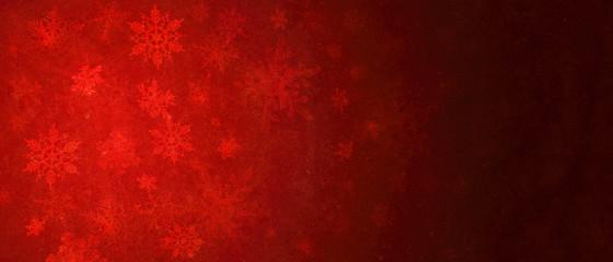 Garden Poster Brown Schneeflocken - Weihnachtsmotiv