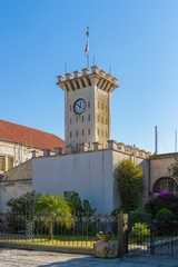 Clock tower at Mount Tabor