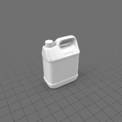 Large white plastic jug