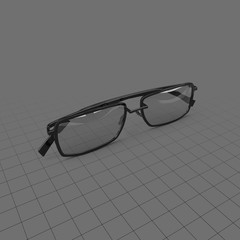 Glasses with thin lenses