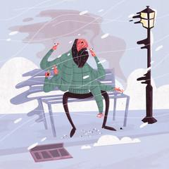 Winter Smoker