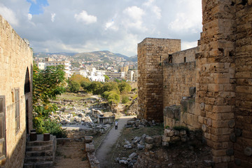 Archaeological site of ancient Byblos, Lebanon