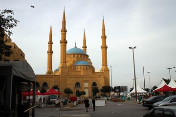 Mohammad Al-Amin Mosque in Beirut, Lebanon