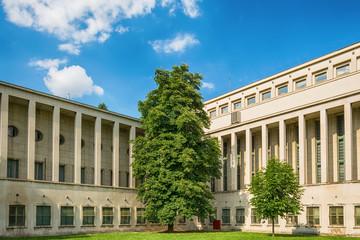 Provincial government building in Novi Sad, Serbia