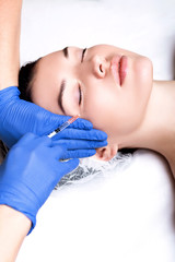 Injections of youth, hyaluronic acid, anti-wrinkle treatm