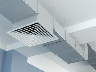 Industrial air duct ventilation equipment