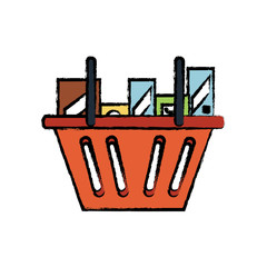 shopping basket icon image