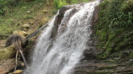 cascada natural.