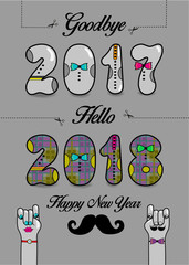 Goodbye 2017. Hello 2018. Happy New Year
