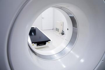 CT scanner. Medical equipment.