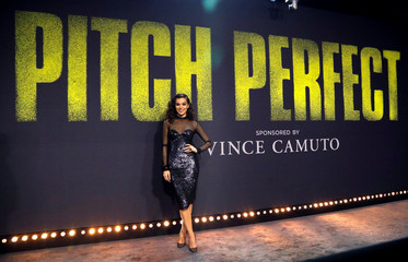 "Cast member Steinfeld poses at the premiere for ""Pitch Perfect 3"" in Los Angeles"