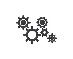 Gear Logo Template vector icon