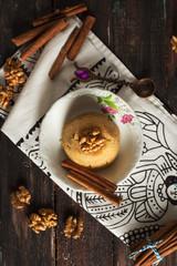 Traditional Semolina Dessert İrmik Helvası