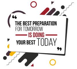 motivational quotes vector design poster. flat illustration