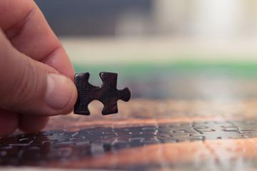 Puzzle parçaları