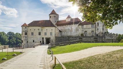the castle of Burghausen Bavaria Germany