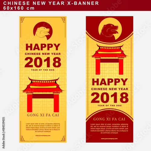 set of chinese new year greeting card with gong xi fa cai text on the cover vector template stock image and royalty free vector files on fotoliacom