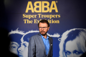 Bjorn Ulvaeus of ABBA attends the opening of 'ABBA: Super Troopers' exhibition at the Southbank Centre in London