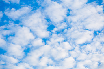 Cloudy blue sky abstract background. sky cloudy