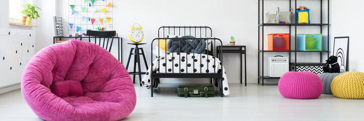 Colorful unisex kids room
