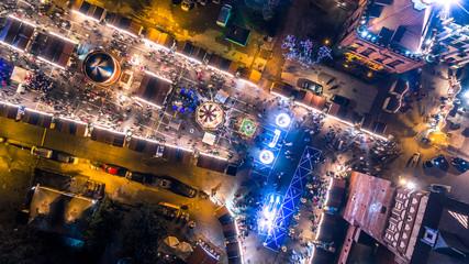 Świąteczna Gdańska Starówka