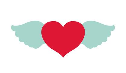 Isolated heart design