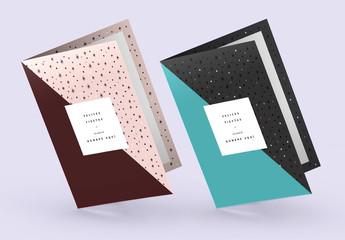 diseño de tarjeta festiva alegre