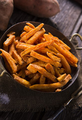 Sweet potatoes fries