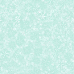 Christmas festive seamless pattern of snowflakes. For design postcards, greeting, invitation.