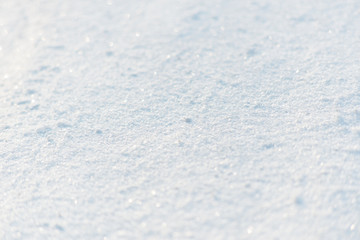 Wall Mural - Fresh snow texture