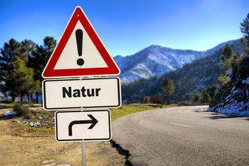 Schild 287 - Natur