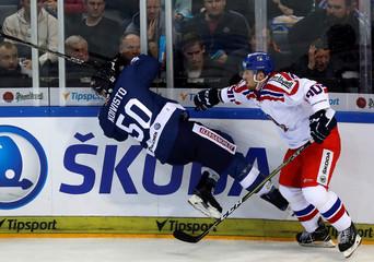 Ice Hockey - Czech Republic v Finland - Euro Hockey Tour