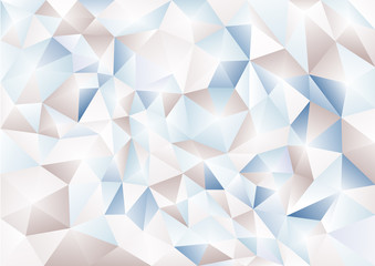 Abstract background in the polygonal style. Pattern of 3-d shapes.