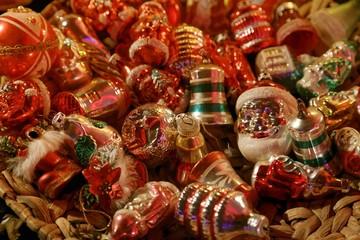 traditional historic christmas tree decoration