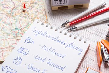 Logistic company office, Logistics Network Planning