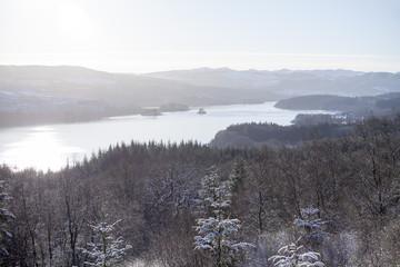 The Loch in Winter