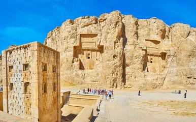 Naqsh-e Rustam archaeological site, Iran