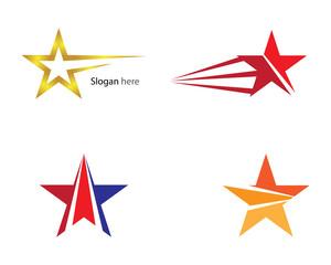 Star Logo Template vector icon illustration design