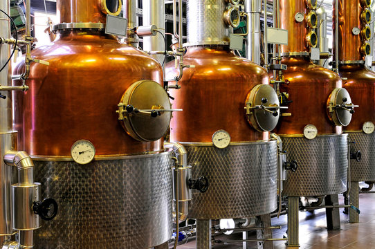 Distillery - copper