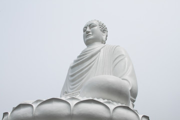 Sitting Ivory Buddha