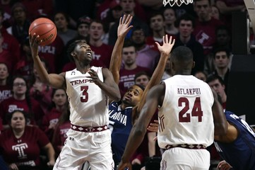 NCAA Basketball: Villanova at Temple