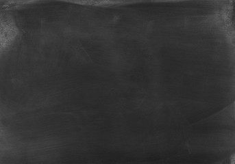Black chalkboard textured background template