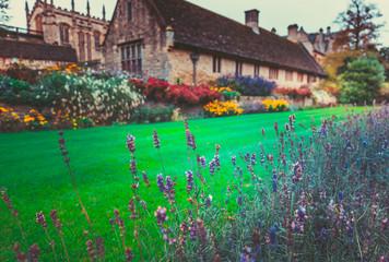 Christ Church. War Memorial Garden. Oxford, UK