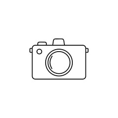 Camera line icon. Tourism and Leisure element. Premium quality graphic design. Signs, outline symbols collection, simple thin line icon for websites, web design, mobile app