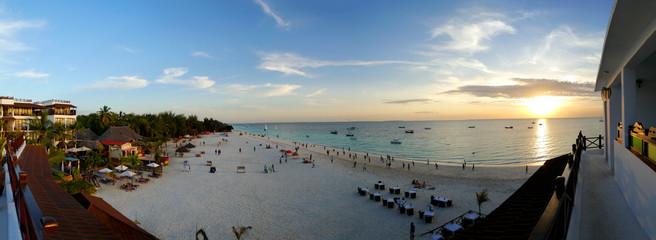 Poster Zanzibar Nungwi Beach in Zanzibar