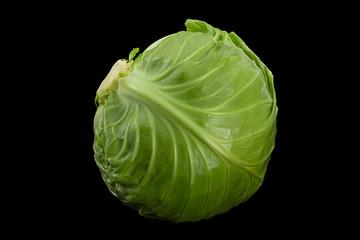 Salad young cabbage closeup