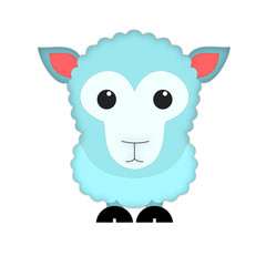 кучерявая овца